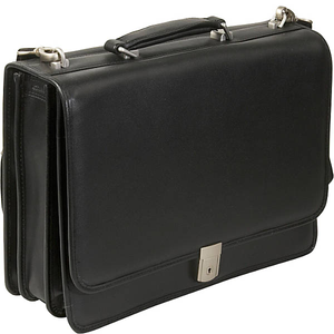 "River North Leather 15"" Laptop Case"