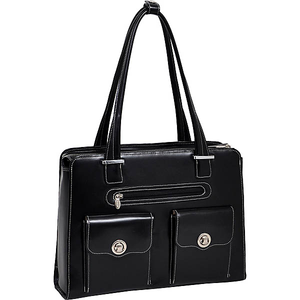 "Verona 15"" Ladies' Fly-Through Checkpoint-Friendly Laptop Briefcase"
