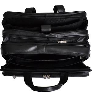"""Walton Leather 17"""" Expandable Laptop Case"""