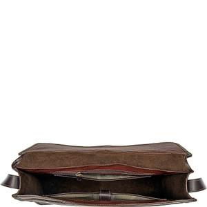 Harrison Buffalo Leather Laptop Messenger