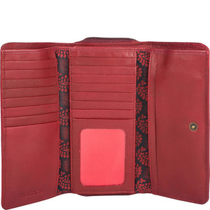 Baga RFID Blocking Trifold Leather Wallet