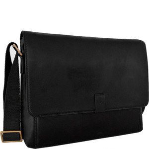 Aiden Leather Business Laptop Messenger