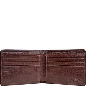 Vespucci RFID Blocking Buffalo Leather Slim Bifold Wallet