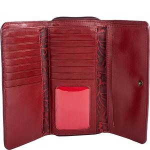 Sindhu RFID Blocking Trifold Leather Wallet