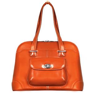 "Avon 15"" Ladies' Leather Laptop Briefcase"