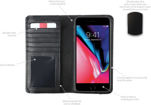 Universal Magnetic Phone Case w/Elastic Closure
