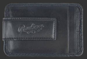 Black Baseball Stitch Rugged Folio
