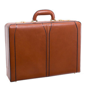 Turner Leather Expandable Attache Case