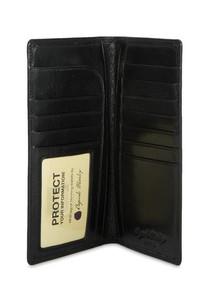 RFID Coat Pocket Wallet - Vegetable Tanned