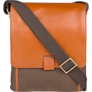 Aiden Medium Canvas & Leather Crossbody