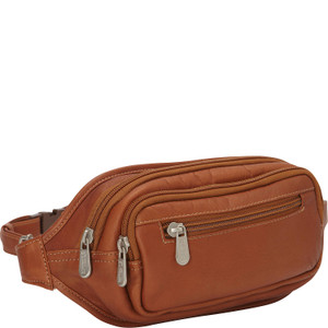 Multi-Zip Oval Waist Bag