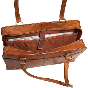 Hardside Shoulder Tote