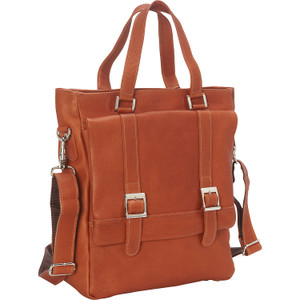 Buckle Flap-Over Shoulder Bag