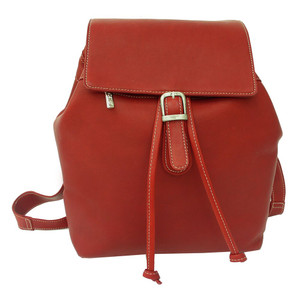 Top Flap Button Backpack