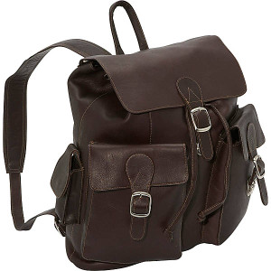 Large Buckle Flap Backpack
