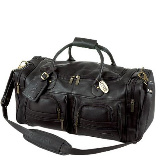 "Executive Leather Sport 22"" Duffel"