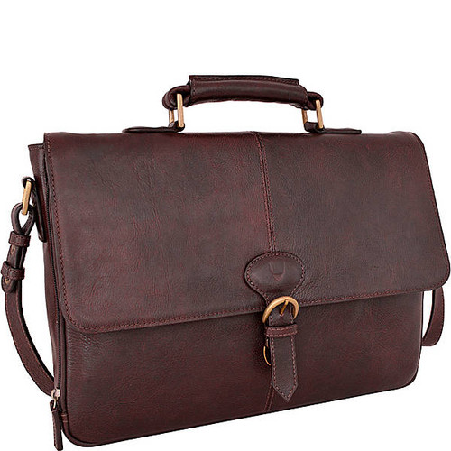 Parker Leather Medium Briefcase