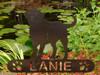Labrador Retriever Garden Stake