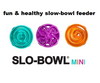 Slow-Bowl Feeder