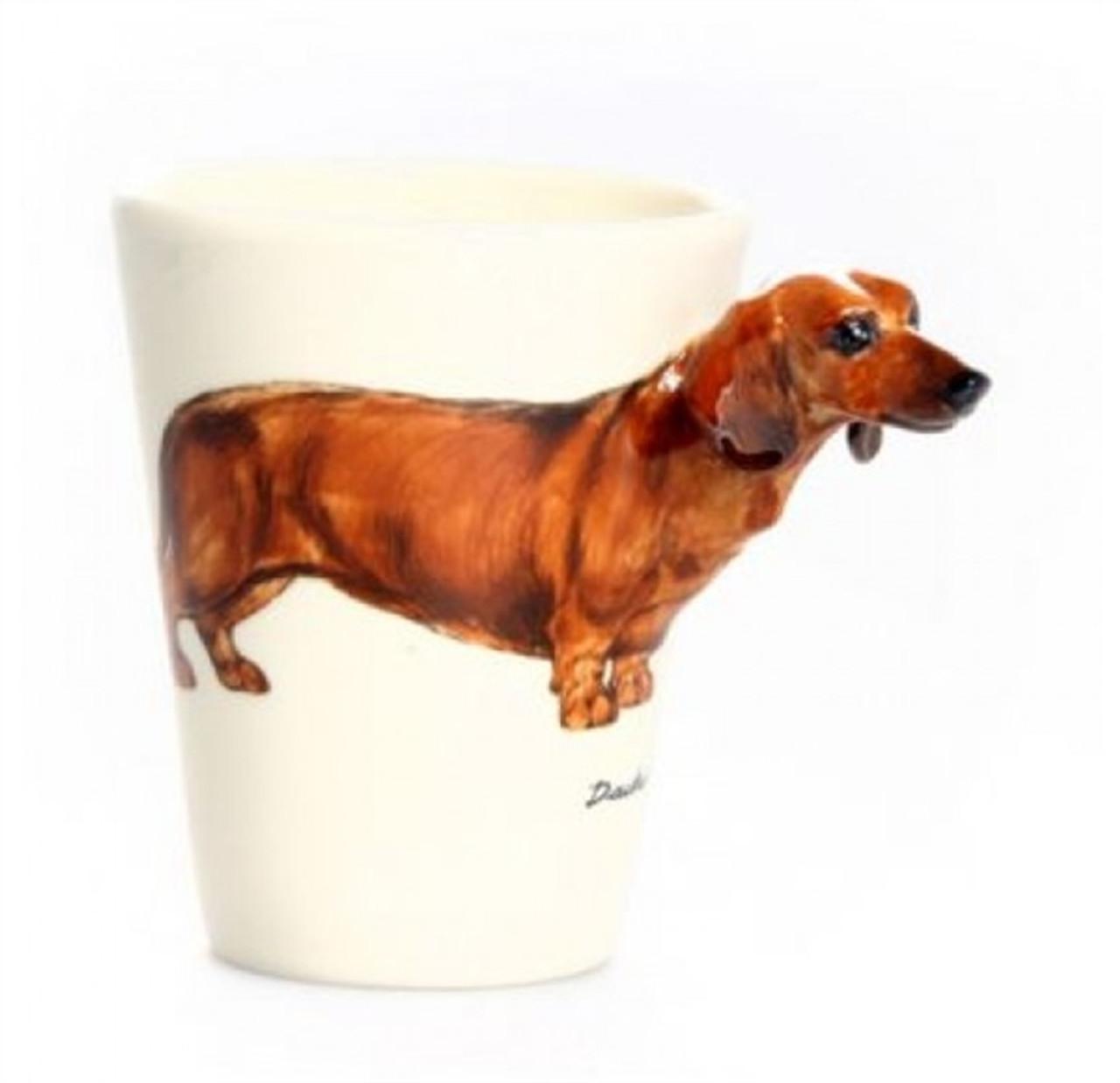 3-D Dachshund Mug