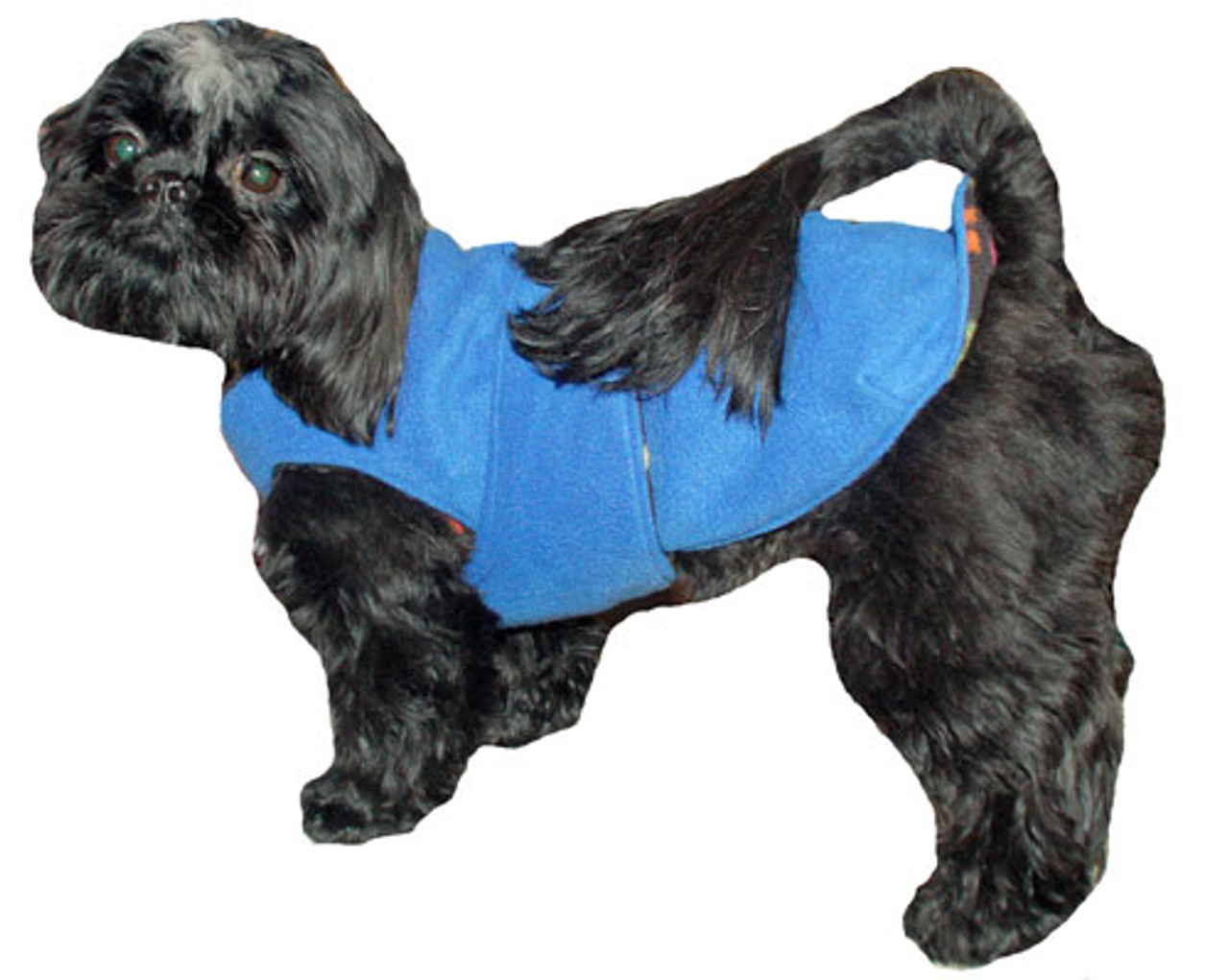 Collarless CoverUp WR Dog Coat