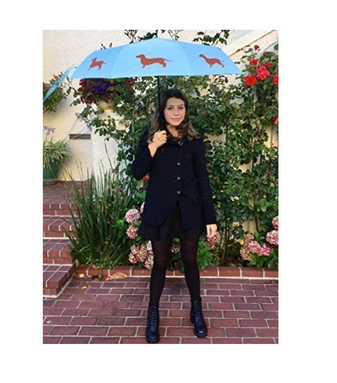 Compact Dachshund Umbrella
