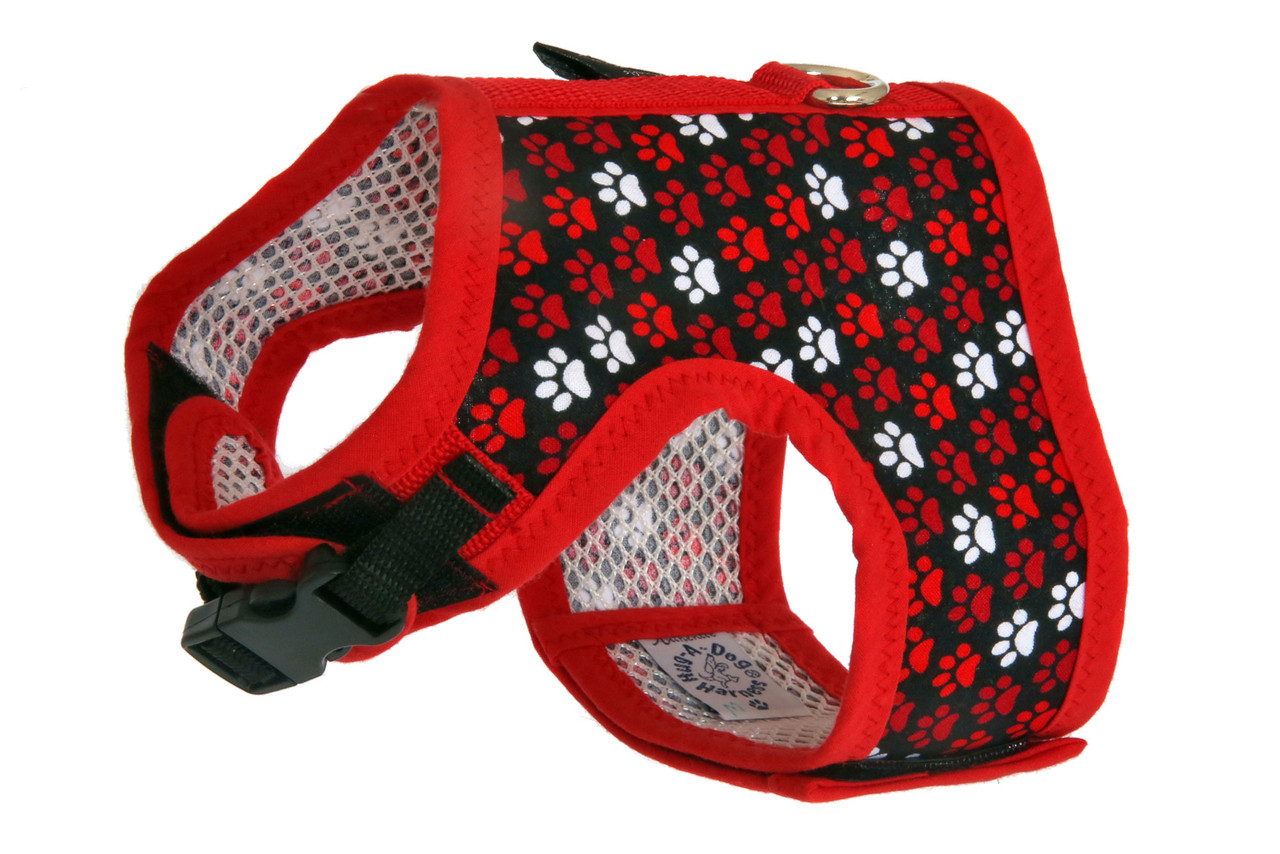 Designer Fabric Dog Harness
