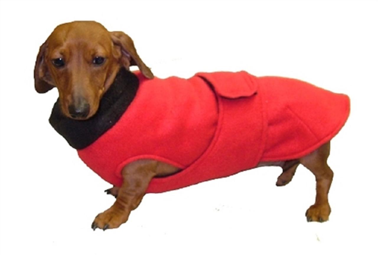 Double-layer Fleece CoverUp Dog Coat