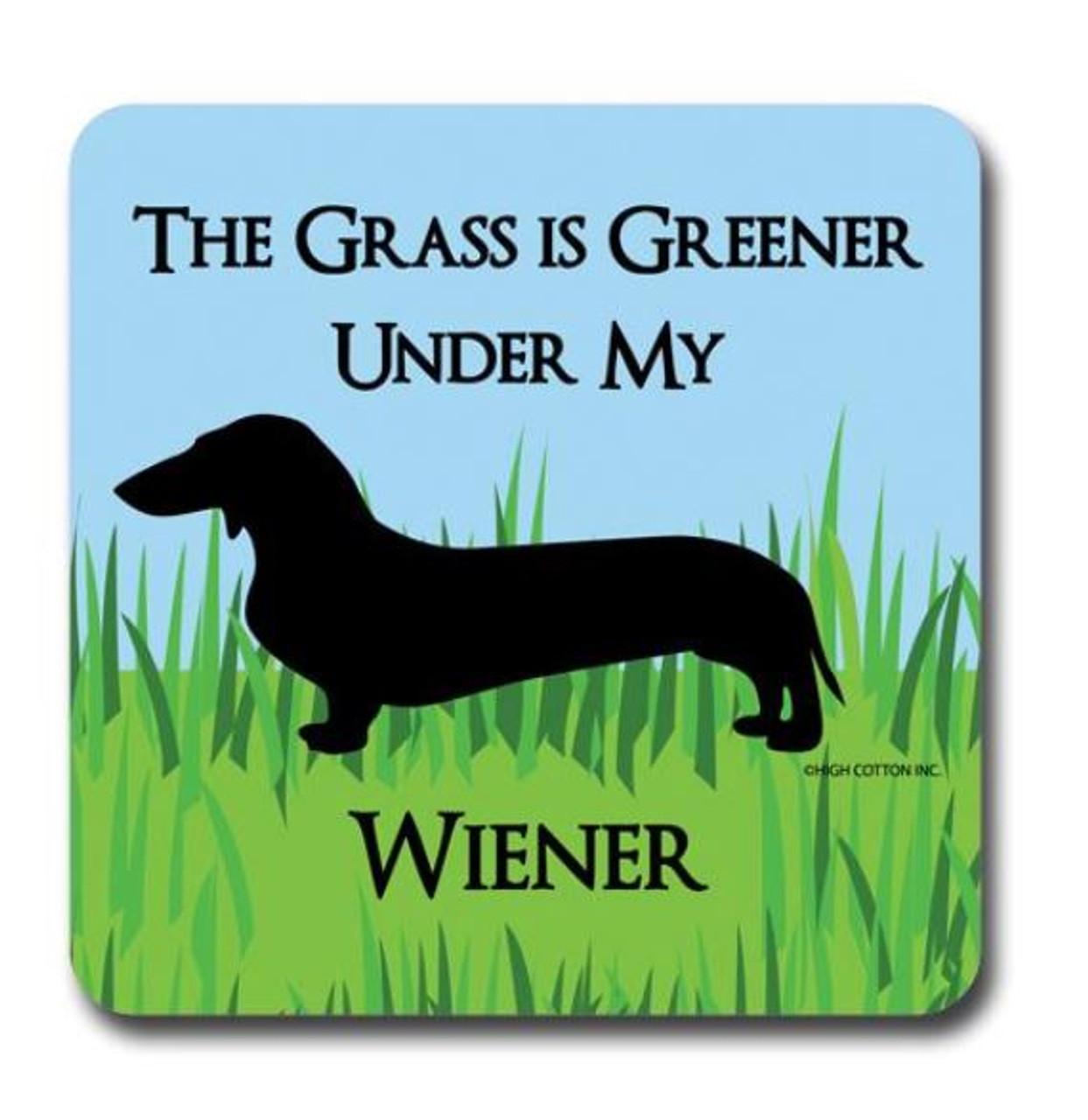 Grass is Greener Drink Coaster