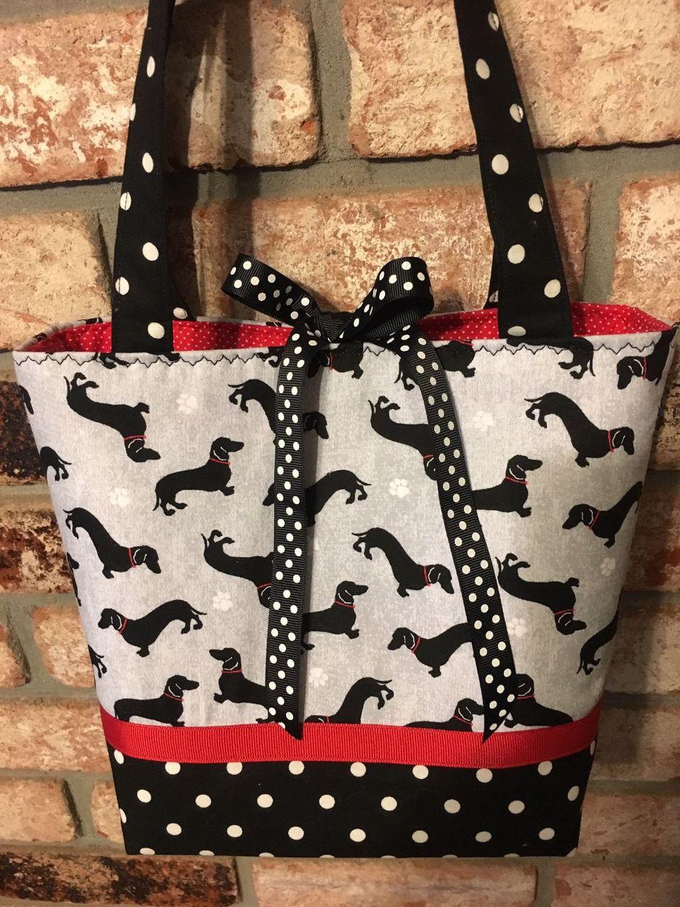 Limited Edition Dachshund Handbag