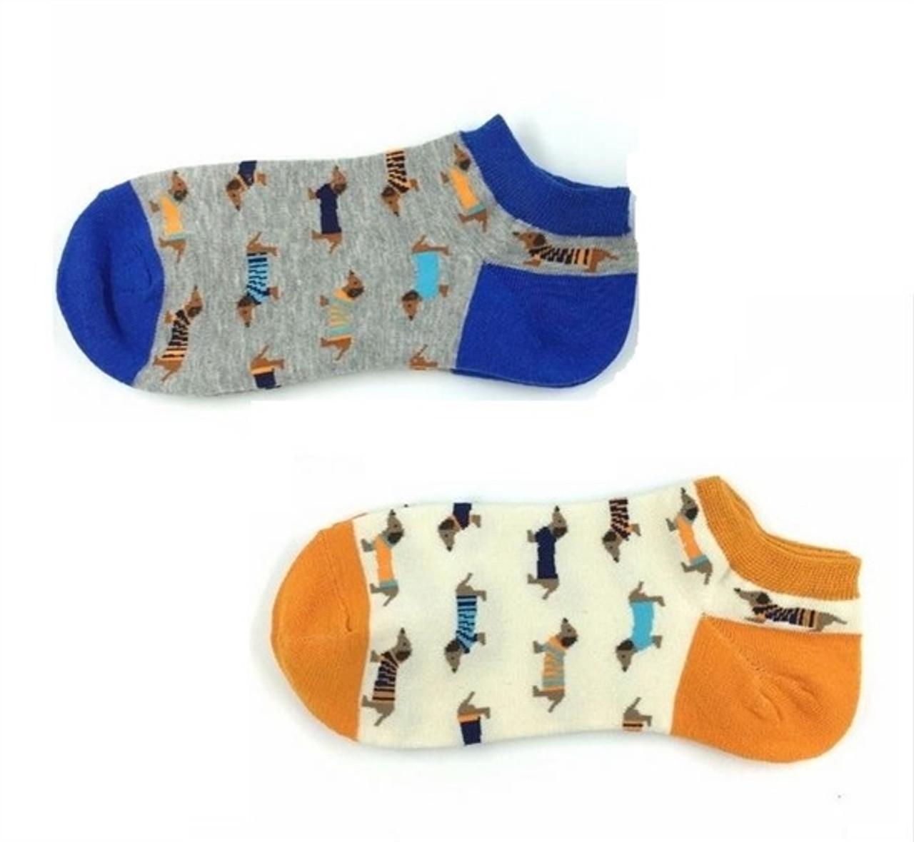 Unisex Dachshund Ankle Socks