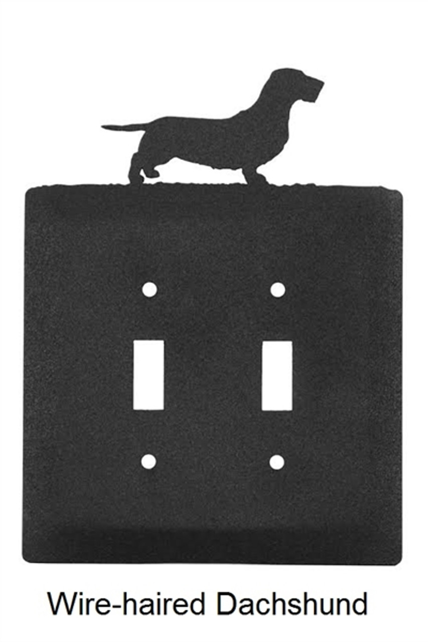 Wire-haired Dachshund Light Switch Cover