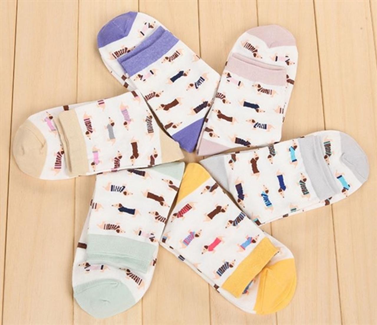 Women's Dachshund Socks
