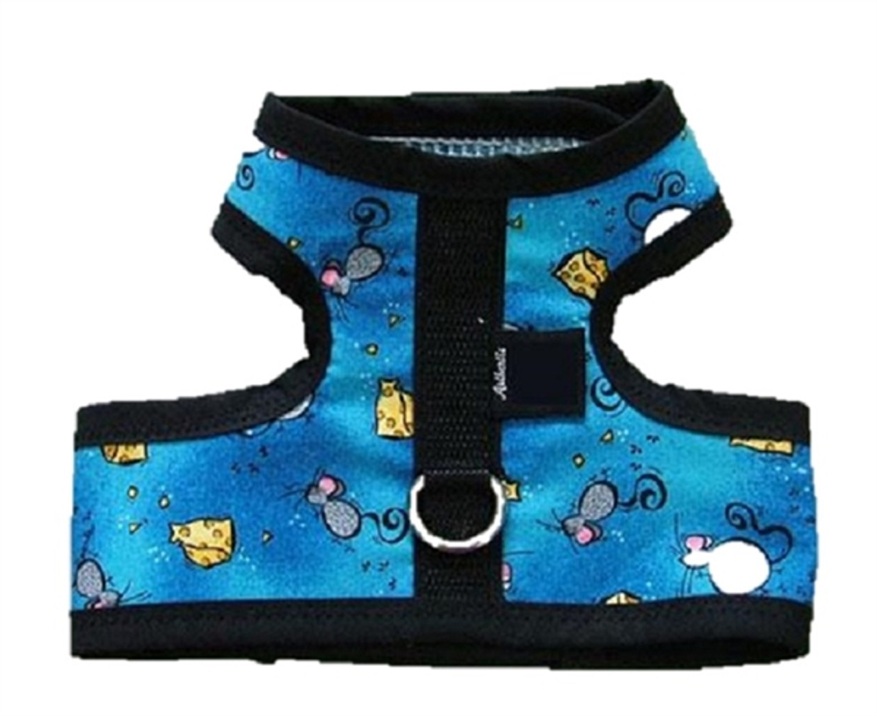 Designer Fabric Cat Harness