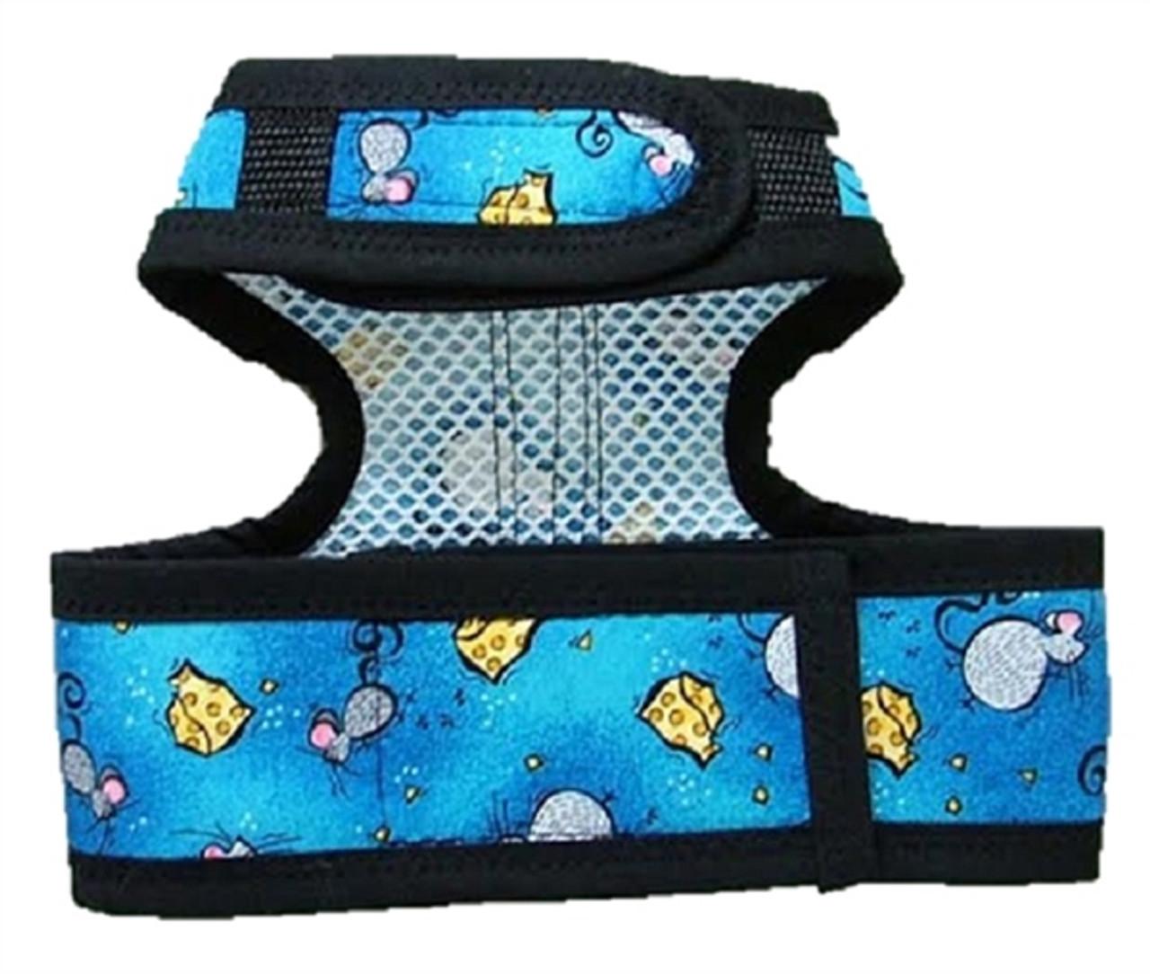Designer Fabric Cat Harness
