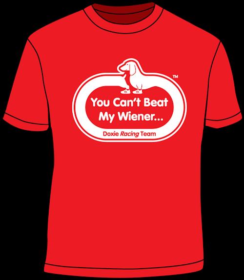 Can't Beat My Wiener T-shirt