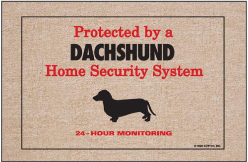 Dachshund Doormat (Security)