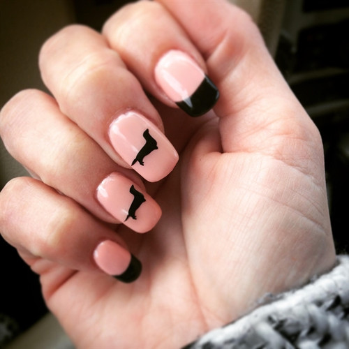 Dachshund Nail Sticker Decals