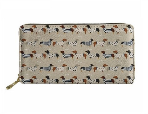 Dachshund Parade Ladies Wallet
