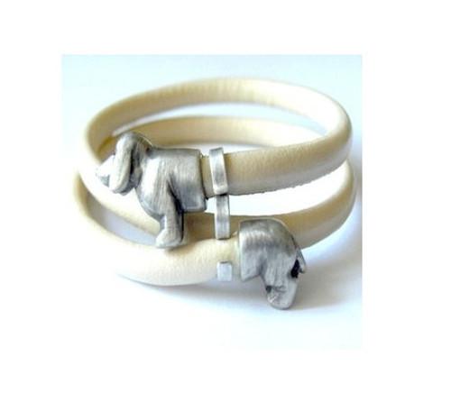 Dachshund Wrap-around Bracelet
