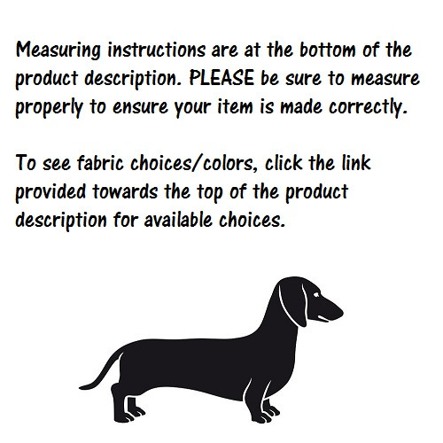 Designer Fabric Dog Harness
