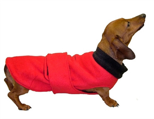 Double-layer Fleece CoverUp Dog Coat
