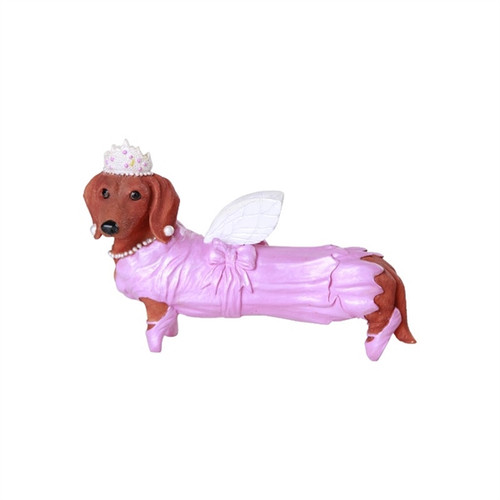 Fairy Godmother Dachshund Figurine