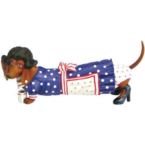 Homemaker Dachshund Figurine
