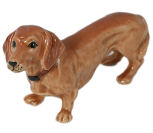Miniature Dachshund Figurine (Standing)