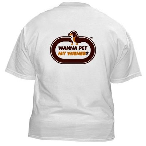 PetMyWiener T-shirt