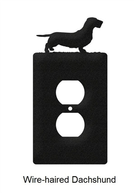 Wire-haired Dachshund Electrical Outlet Cover