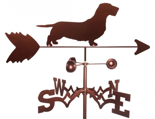 Wire-haired Dachshund Weathervane