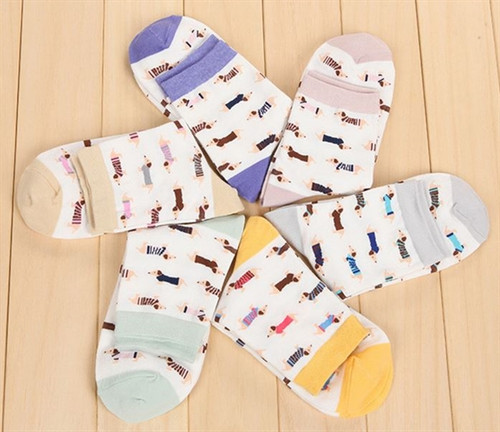 Women's Dachshund Socks