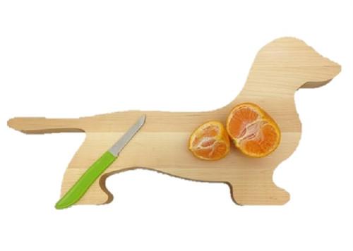 Maple Wood Dachshund Cutting Board